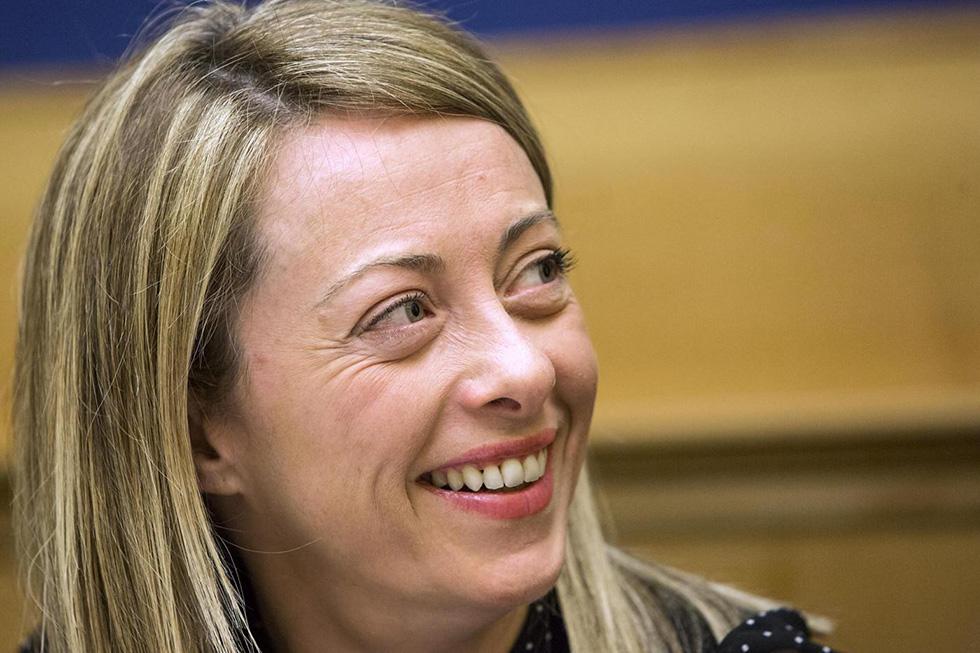 Giorgia Meloni, 14 gennaio 2014 (Roberto Monaldo, Lapresse)