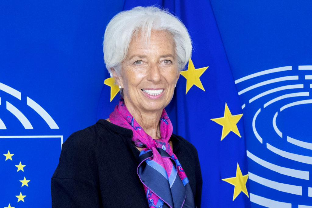 David SASSOLI - EP President meets with Christine LAGARDE, candidate for the position of ECB President