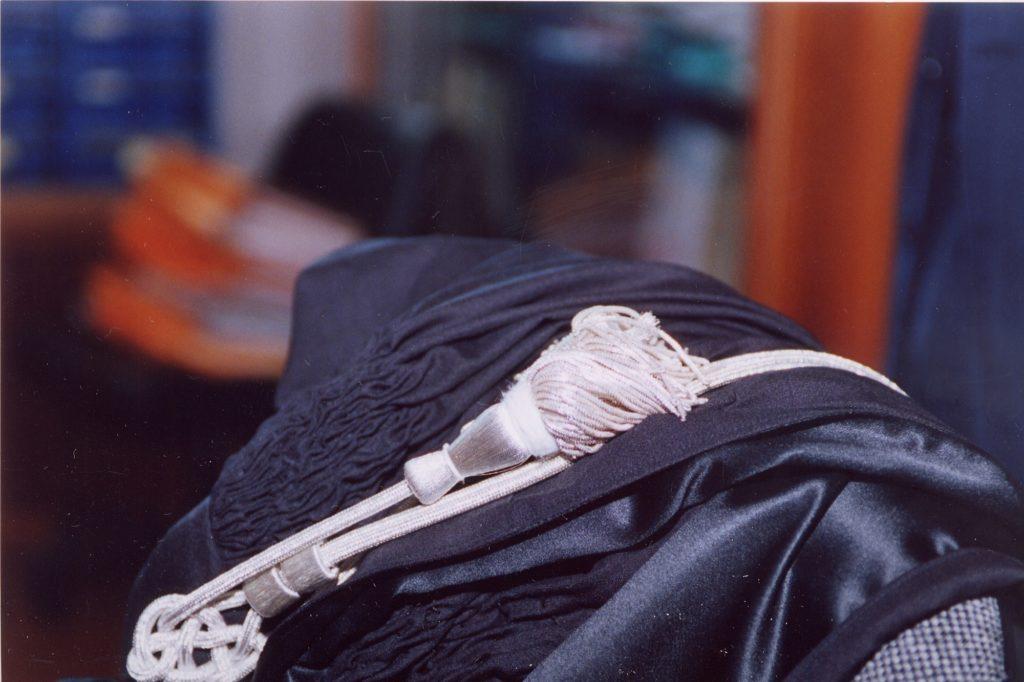 SCANDALO TANGENTI INAIL A POTENZA TOGA DA MAGISTRATO (/Fotogramma, MILANO - 1989-05-03) p.s. la foto e' utilizzabile nel rispetto del contesto in cui e' stata scattata, e senza intento diffamatorio del decoro delle persone rappresentate